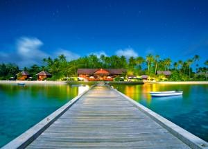 Wakatobi 02-Wakatobi Dive Resort_View from the end of Jetty_photo by Shawn Levin