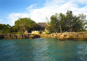 Azura Quilalea Villa Quilalea exterior from the sea
