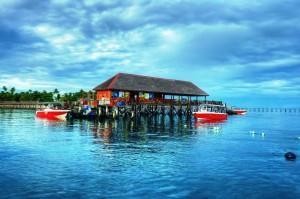 Borneo Divers Mabul Resort - Jetty 01
