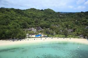 Palau Pacific Aerial Beach 3
