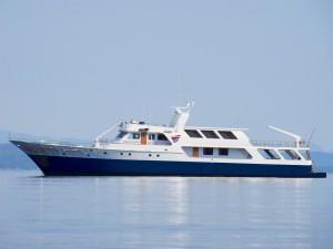 MV French Polynesia boat