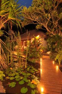 Watergarden - night-view